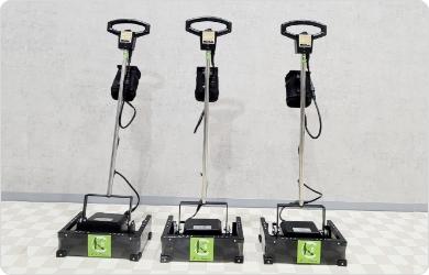 床清掃用のポリッシャー