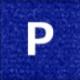 オーダーマット ブルー
